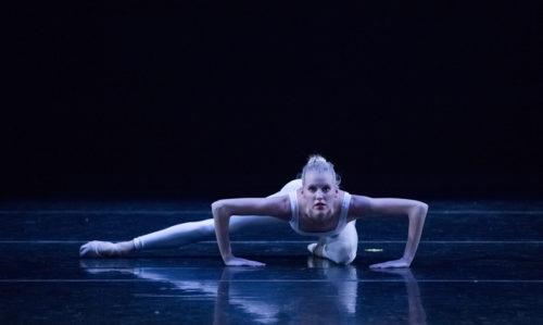 Charlotte Logeais is among several alumnae returning to perform in The Portland Ballet's 15th anniversary program. Photo: Blaine Truitt Covert/2015