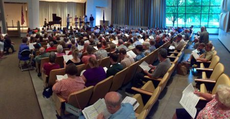 Portland Symphonic Choir leads its annual Summer Sings again.