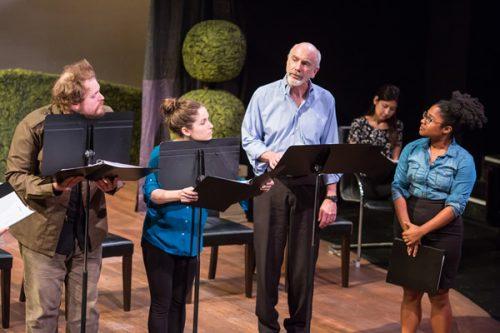 Reading frenzy: good actors, new scripts at Proscenium Live. David Kinder, kinderpics photography, www.kinderpics.com