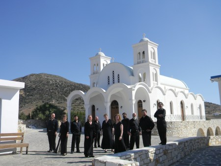 Cappella Romana performed in Greece.
