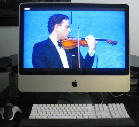 Desktop venue: Live from Russia, violinist Nikolaj Znaider and the St. Petersburg Orchestra. Photo: mediciTV
