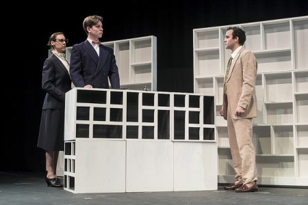 Greer, Beck, St. Cyr in 'The Graduate.' Photo: Casey Campbell.