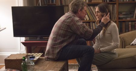 "Thomas Hayden Church and Sarah Jessica Parker in HBO's ""Divorce""/Courtesy HBO"