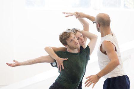 "NW Dance Project,studio rehearsals,""Carmina Burana"""