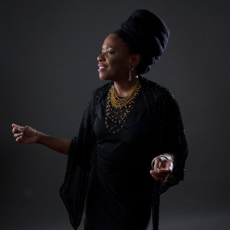 Catherine Russell performs Tuesday in Portland.
