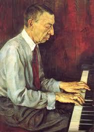 Sergey Rachmaninov.