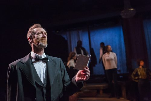 Ted Rooney is President Lincoln and, briefly, Walt Whitman. Photo: Owen Carey