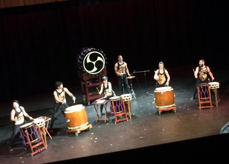 LA's TaikoProject performed in Portland.