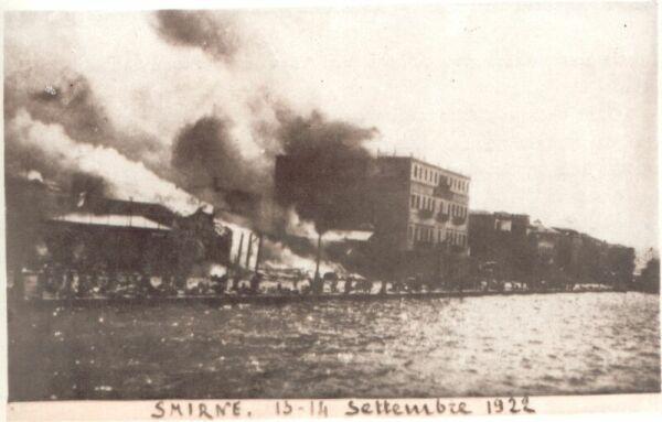 Smyrna on Fire, September 13-14, 1922.