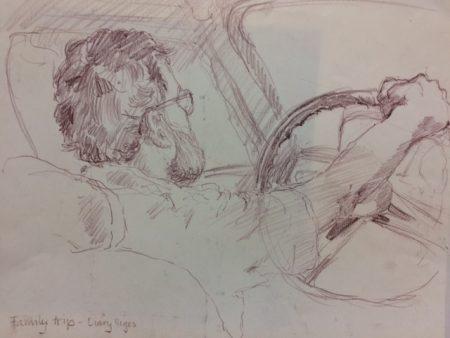 Drawing by Jana Demartini.