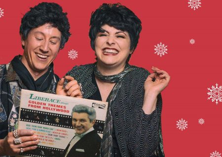 Liberace and Liza: together again at Coho Theater! Photo: Gary Norman.