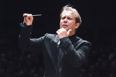 Seattle Symphony music director Ludovic Morlot conducted the Oregon Symphony. Photo: Brandon Patoc.