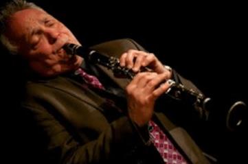 Jazz clarinetist and saxophonist Ken Peplowski at the Siletz Music Festival.