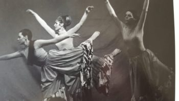 Bonnie Merrill (left), with Portland Dance Theater colleagues (from left) Sheila Nixon, Sylvester Dolinar, Cathy Evleshin, Judy Patton. and Jann Dryer. Photo courtesy of Judy Patton.,