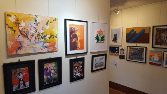 The second floor of The Gallery at Ten Oaks in McMinnville includes a show through March 31 featuring artwork by McMinnville High School juniors and seniors.