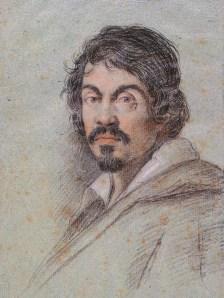 """Portrait of Caravaggio"" by Ottavio Leoni (ca. 1621), Bibliotecha Marucelliana, Florence. Wikimedia Commons"