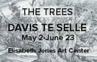 Elisabeth Jones Art Center The Trees Davis Te Selle May 2-June 23, 2019