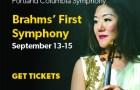 Portland Columbia Symphony Orchestra Brahms' First Symphony