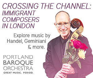 Portland Baroque Orchestra Crossing the Channel 2019