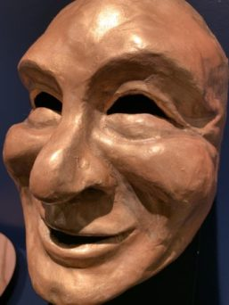 """This mask by Tony Fuemmeler is included in the """"Art Cubed"""" show. A November exhibition at the Chehalem Cultural Center will feature Fuemmeler's work."""