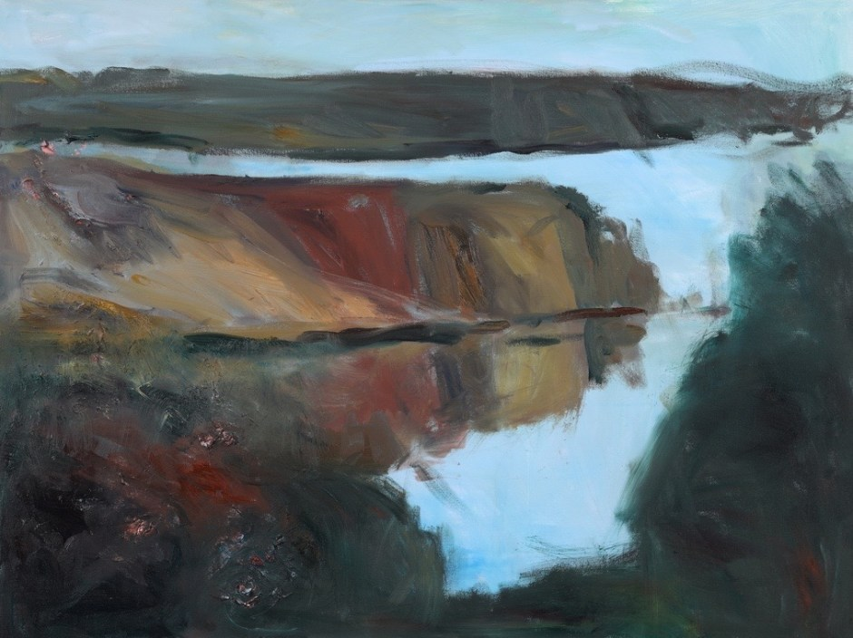 A retrospective of Newport artist Sandra Roumagoux's work from the past 40 years opens Friday in the Newport Visual Arts Center.