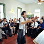 Portland Sacred Harp performed shape note music in October. Photo by Daniel Heila.
