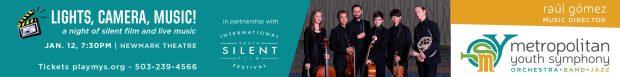 Metropolitan Youth Symphony Lights, Camera Music!