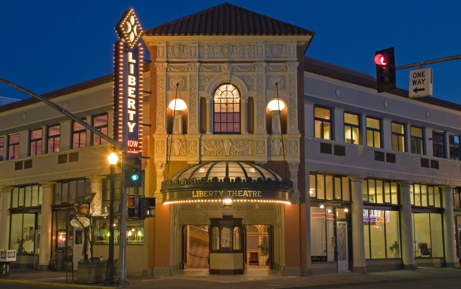 Astoria's Liberty Theatre will receive $8,685 from the Oregon Cultural Trust in 2020 to develop a marketing plan, including redesigning the theatre's website, with a goal of increasing ticket sales and overall revenue. Photo courtesy: Liberty Theatre