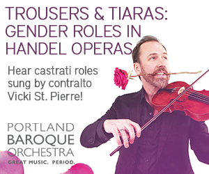 Portland Baroque Orchestra Trousers & Tiaras