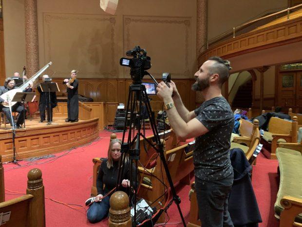 Portland Baroque Orchestra livestream March 2020.