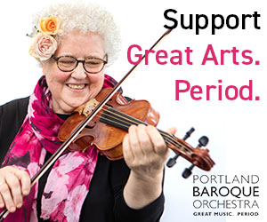 Portland Baroque Orchestra support the arts