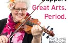 Portland Baroque Orchestra support the arts