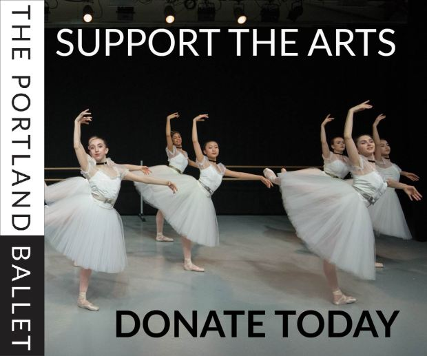 The Portland Ballet support the arts donate
