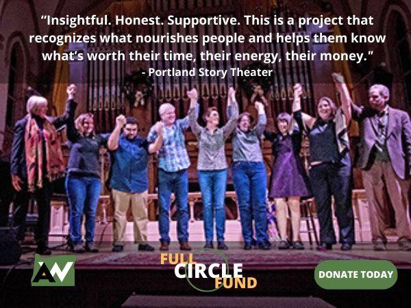 Portland Story Theater Oregon ArtsWatch Full Circle Fund