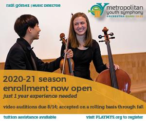 Metropolitan Youth Symphony open enrollment