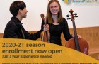 Metropolitan Youth Symphony open enrollment