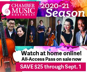 Chamber Music Northwest 2020-2021 season early subscription