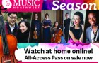 Chamber Music Northwest 2020-2021 season early subscription