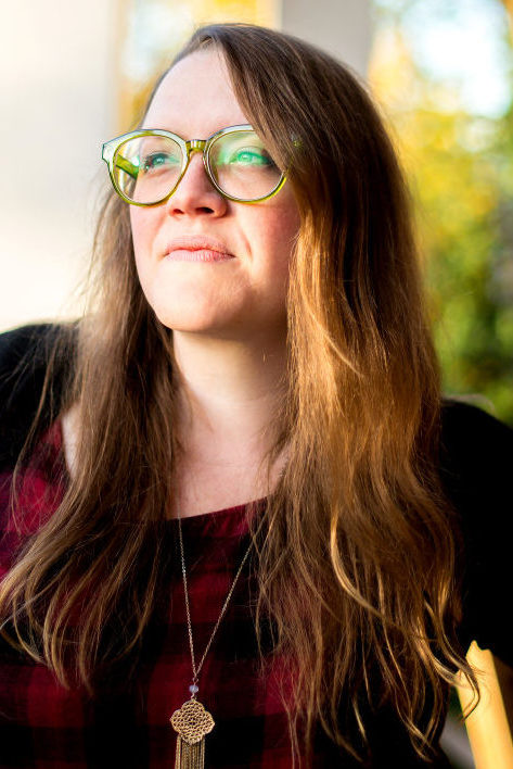George Fox University graduate Joann Boswell of Camas, Wash., will return to Yamhill County on Thursday when the McMinnville Public Library resumes poetry readings and open mic night. Photo by: MPR Photography. Courtesy of Joann Boswell