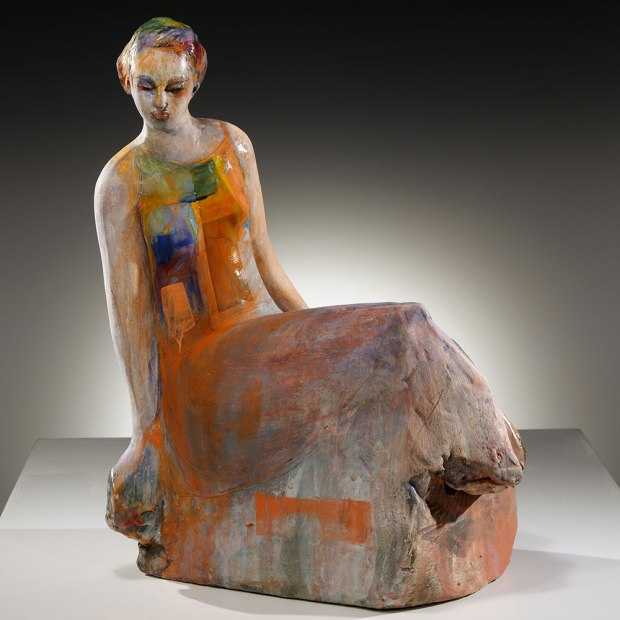 "Sculptural artist Michelle Gregor's work focuses on the human form. ""The figure has served as the best method of transportation throughout my many years of practice….,"" she says. ""As a source, it seems infinite."""