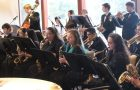 In February, the Taft Jazz Band makes is last performance before going online due to the pandemic shutdown. Photo courtesy: Music Is Instrumental
