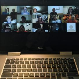 This year, Coaster Theatre's Dickens Play Project is holding its workshops via videoconference. Photo courtesy: Coaster Theatre Playhouse