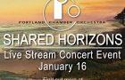 Portland Chamber Orchestra Shared Horizons