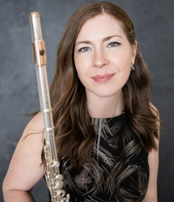 Flutist Amelia Lukas will give a virtual recital followed by a panel discussion on Monday, March 1.