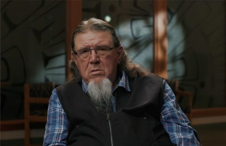 """Ed Johnstone, fisheries policy representative for the Quinault Indian Nation, is among those interviewed in the """"Can the Blueback Survive?"""" The documentary, about the tribe's fight to recover blueback salmon from habitat degradation, won the Swawash-ili'i Award for Best Native American Film."""