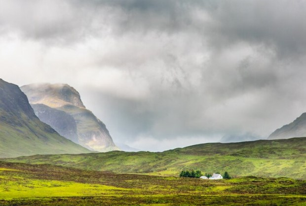 """Photographer Charlie Hyman says he favors out of the way places, such as this landscape in """"Glencoe Scotland."""""""