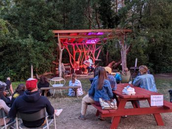 Doug Martsch at Sou'wester Lodge, September 2021. Photo by Robert Ham.