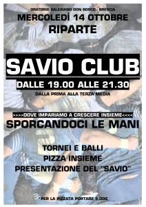 Volantino Inizio Savio Club 2015