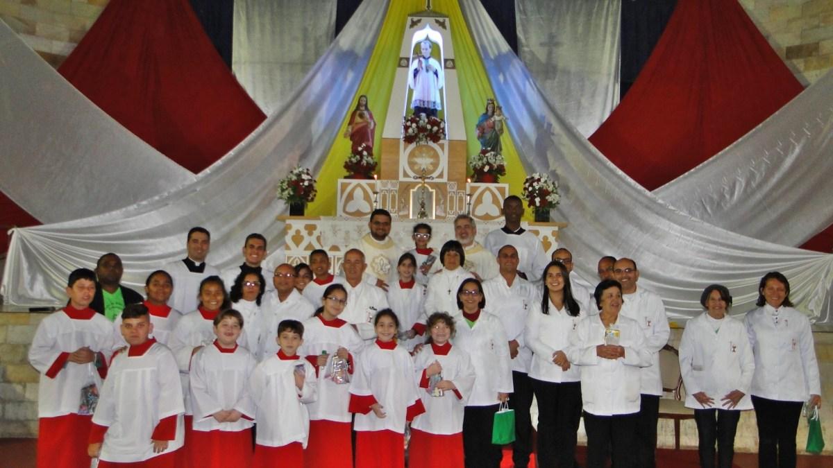 Pe. Edson Castilho preside celebração da Missa da Festa de São Luiz Gonzaga