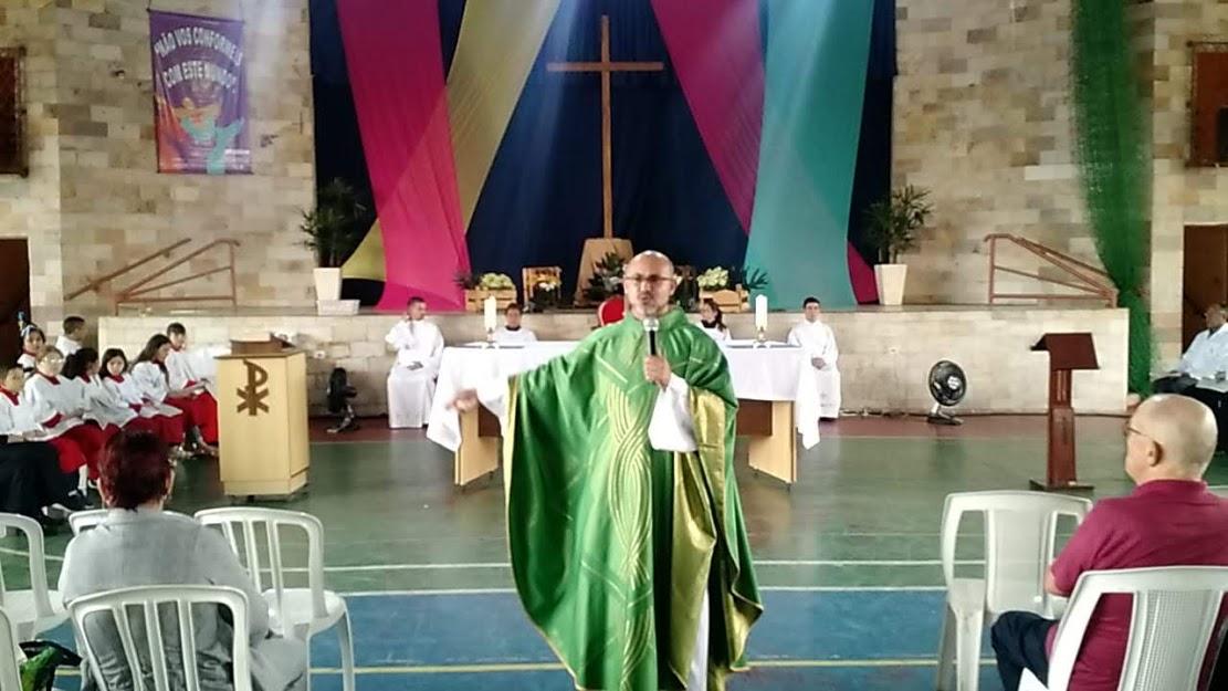 Pe. Luiz Fabiano preside Missa do 7º Domingo do Tempo Comum